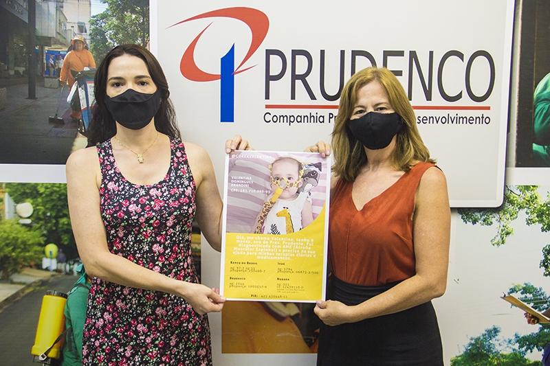 Funcionários da PRUDENCO criam campanha interna de arrecadação